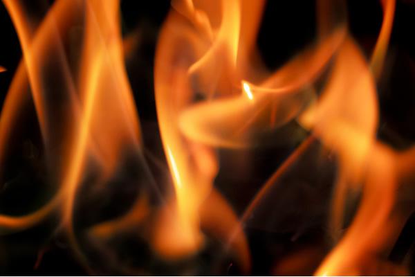 炎の写真素材