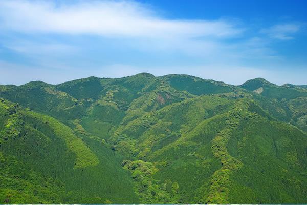 山の写真素材