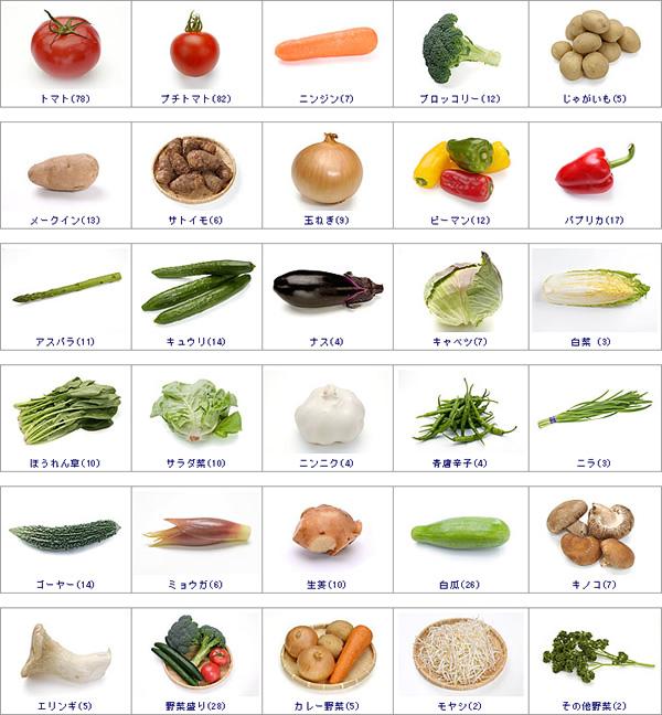 野菜の写真素材