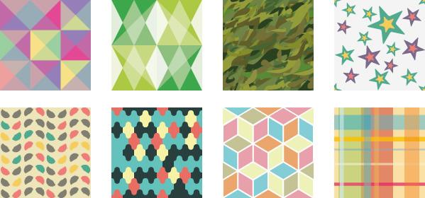 図形・幾何学模様のパターン背景