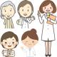 女性薬剤師のかわいいイラスト無料フリー素材