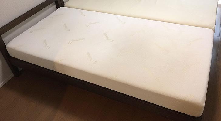 テンピュールのベッドマットレス