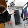 仕事をするwebデザイナー