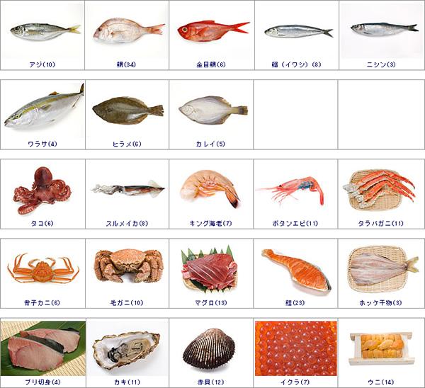魚貝類の写真素材