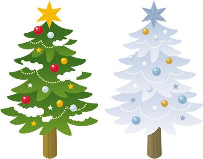 クリスマスツリー-ピクト缶