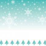 クリスマスの飾り枠フレーム/背景フリーイラスト無料ベクター(ai)素材