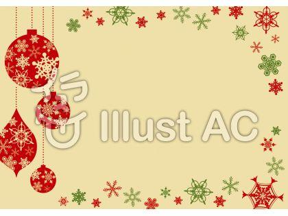 フラットデザインで使い勝手抜群なクリスマスカード