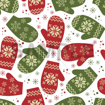12月冬のフリー素材シームレスなクリスマスのテクスチャー背景パターン