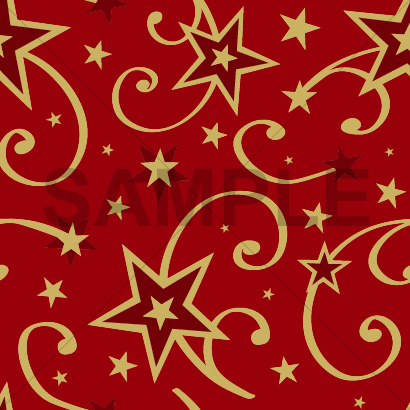 星のイラスト柄のクリスマス背景テクスチャーパターン