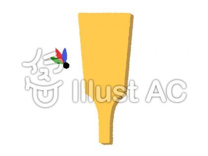 羽子板と羽根の背景フレームイラスト