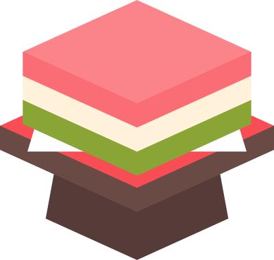 菱餅のイラスト