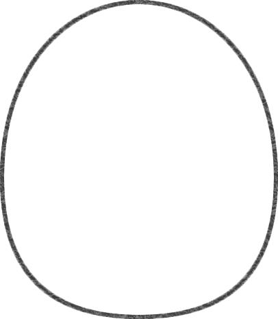 ムックの輪郭線を描く