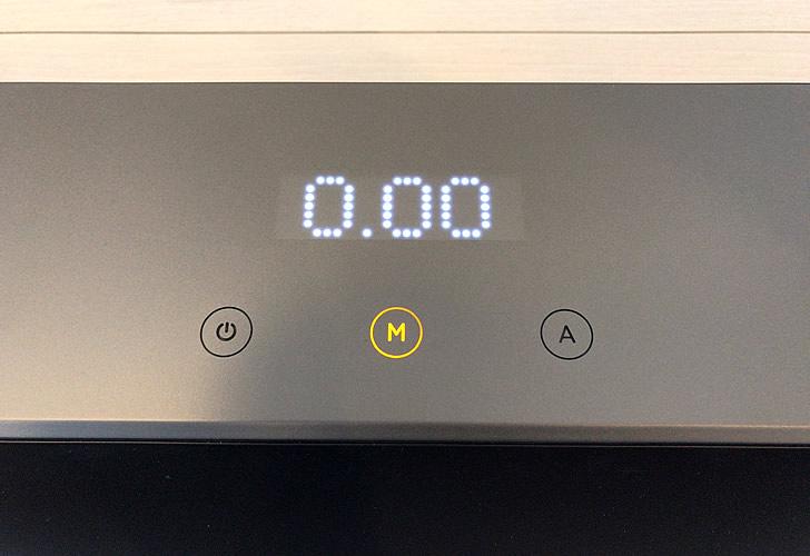 ウォーキングパッドR1の表示パネル・モードボタン