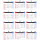 【年間】2022年エクセルカレンダー